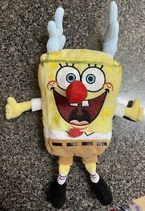Ty Beanie Baby Sponge Bob Squarepants Sleigh Ride Stuffed Plush Toy Square Pants