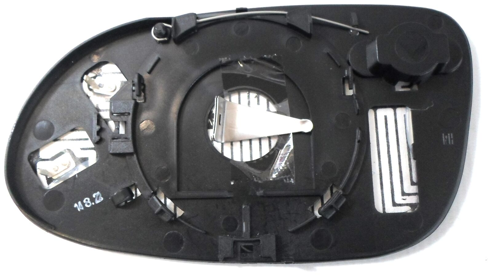 Trupart MG830 Right Mirror Glass Heated Fits Mercedes A Class A190 04.01-04.04
