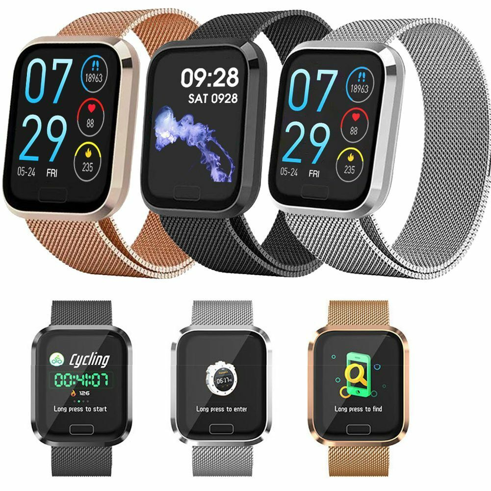 Touchscreen Bluetooth Smartwatch Sports Fitness Tracker for Android Huawei P30 android bluetooth Featured fitness for huawei p30 smartwatch sports touchscreen tracker