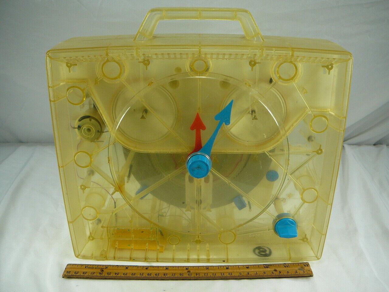 Vintage Reloj Mattel projootipo hablando muestra poco propiedad de empleados Original 1969