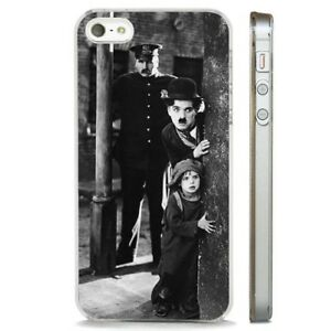 Charlie-Chaplin-Comedy-Film-Scene-CLEAR-PHONE-CASE-COVER-fits-iPHONE-5-6-7-8-X