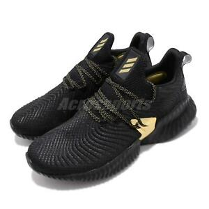 Details about adidas Alphabounce Instinct M Black Gold Mens Running Shoes Bounce EF0867