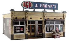 Woodland Scenics BR5851, O Scale Built & Ready w/ Lighting, J. Frank's Grocery