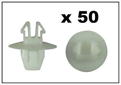 50 X Suzuki Lato Stampaggio Tagliare Clip Pannello 10.5mm- Aspetto Bello