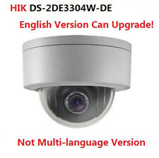 Hikvision DS-2DE3304W-DE 3MP 4x Optical Zoom 2.8~12mm Network Mini PTZ Camera US