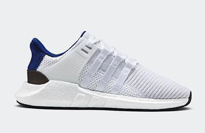 finest selection bbaac befa4 Details about Adidas EQT Support 93/17 White Blue Light Gum PK Boost  Stripes BZ0592 size 12