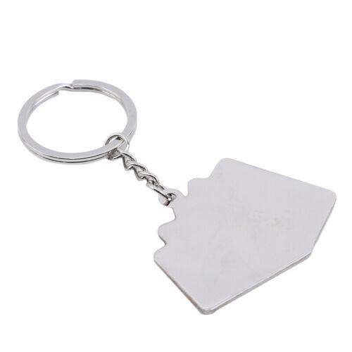 Metal Poker Key Chain Bag Pendant Car Keychain Auto Motorcycle Keyrings