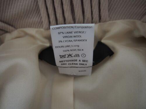 36 France Size 4 Jacket Scherrer Boutique Us Blazer Beige ZgUwYSqF
