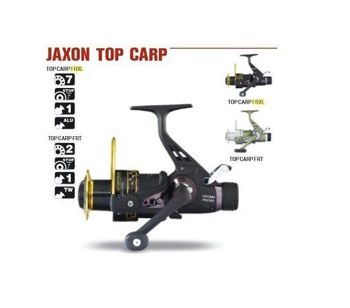 JAXON TOP CARP FRXL Karpfenrolle Rolle Angelrolle Heckbremse Freilaufrolle