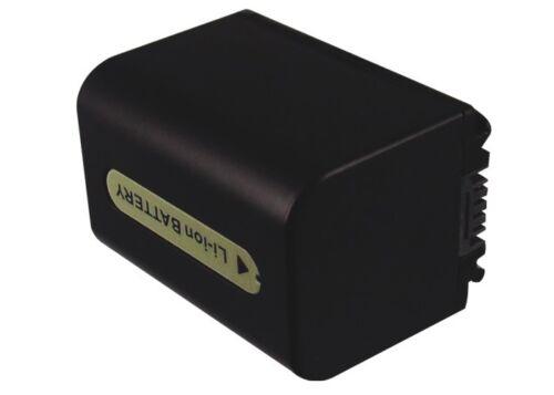 DCR-HC40W DCR-DVD205 Premium Battery for Sony DCR-SR290E DCR-DVD810 HDR-CX7