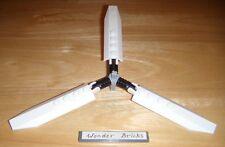 Lego Helicopter Rotors White 3-Axle Hub 9450 Wind Turbine Blade
