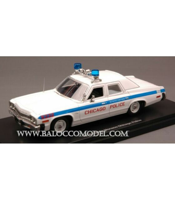 DODGE MONACO CHICAGO POLICE 1974 1:43