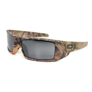 b9a1ebf6df Oakley Sunglasses Gascan 03-483 Woodland Camo Frames Black Iridium Lens 60mm