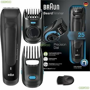 braun bt5050 mens beard trimmer cordless rechargeable electric hair styling kit ebay. Black Bedroom Furniture Sets. Home Design Ideas