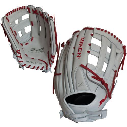 "Miken Pro Series 13.5/"" PRO135-WS slowpitch Softball Glove-Main Droite lance"