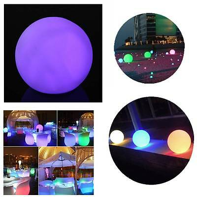 Spheriform LED Color Changing Mood Ball Night Light Indoor Home Room Decor Lamp