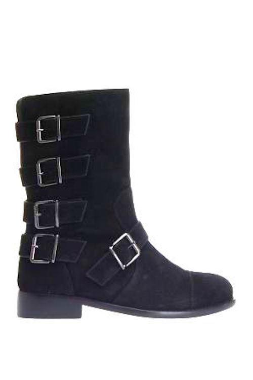 Giuseppe Zanotti negro botas tamaño 35 EE. UU. 5