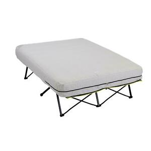 Camping Double Size Air Bed Non-Slip Mattress Fits Queen Bed Sheet Pump Included