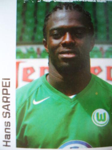 Panini 484 BL Fussball 2004//05 Hans Sarpei VfL Wolfsburg