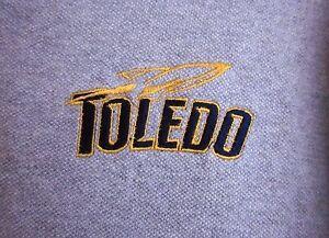 TOLEDO ROCKETS University med polo shirt OHIO college embroidery | eBay