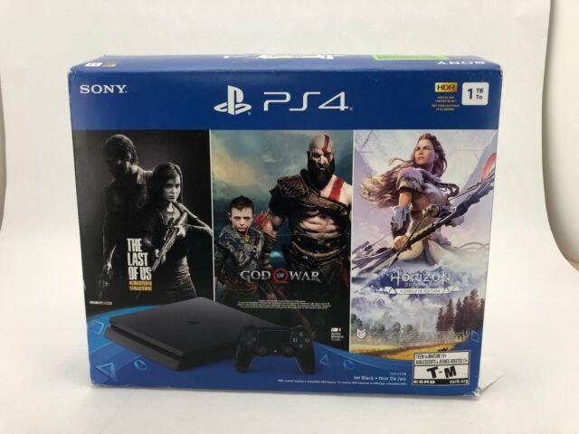 Sony Playstation 4 Console & Remote: 1 TB | Slim | Black
