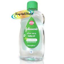 Johnsons Baby Massage Oil With Aloe Vera 300ml