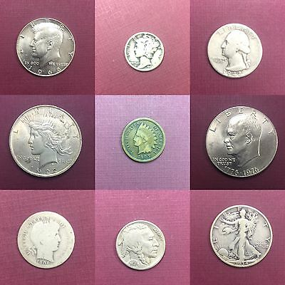 RARE Silver Barber Quarters ✯1892-1916✯ Barber Quarter U.S Coin Classic