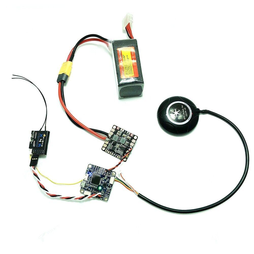 Insav F4 lujoso 30,5 x 30,5 mm controlador de vuelo integración m8n GPS brújula Baro OSD