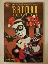 Batman Adventures: Mad Love (1994) 2nd app & origin HARLEY QUINN G/VG graph nvl
