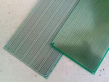 2x Stripboard Vero 10x20cm 5er joint hole Prototype Fiberglass pcb circuit board