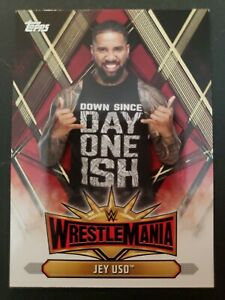 2019-Topps-WWE-Road-to-WrestleMania-35-Roster-WM-32-Jey-Uso