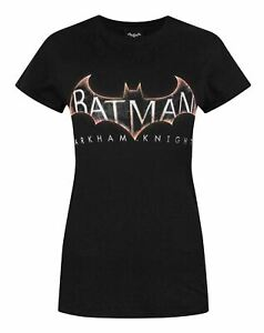 Batman-Arkham-Knight-Women-039-s-T-Shirt