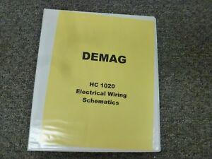 [DIAGRAM_0HG]  DEMAG HC 1020 Hydraulic Truck Mounted Crane Electrical Wiring Diagram Manual  | eBay | Demag Hoist Wiring Diagram |  | eBay