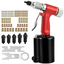 Pneumatic Rivet Nut Gun Rivnut Setting Gun Riveter Air Riveting Tool Hex Wrench