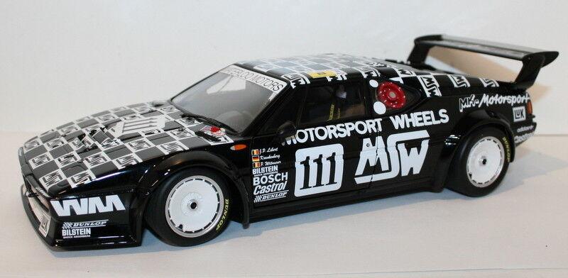 muy popular Minichamps 1 18 Scale 180862911 BMW M1 MK Motorsport Le Le Le Mans 1986  Esperando por ti