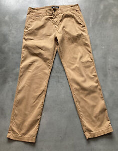 American Eagle Outfitters Original Straight Chino Khaki Pants Mens Size 32X32