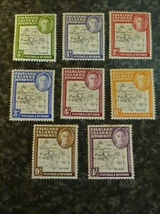 FALKLAND-ISLANDS-DEPENDENCIES-POSTAGE-STAMPS-SGG9-G16-MOUNTED-MINT