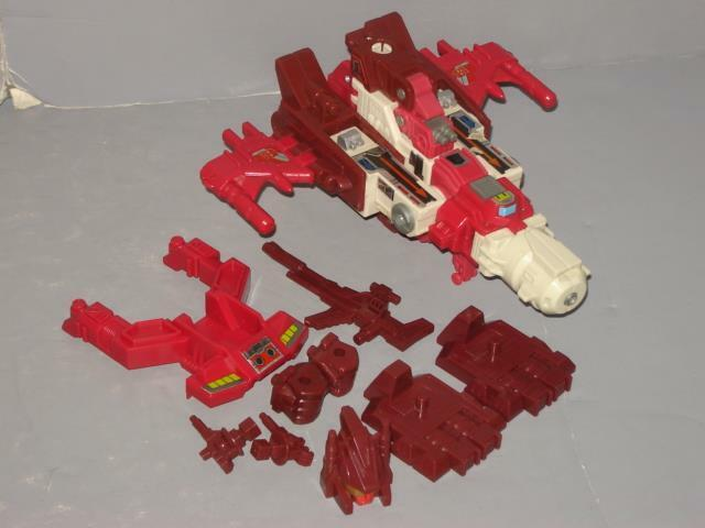 G1 TRANSFORMER COMPUTRON SCATTERSHOT COMPLETE LOT  LOTS OF PICS PROF CLEANED