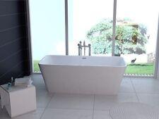 BW-IX015 170x80x58 cm Freistehende Badewanne aus Acryl Wanne mit Ab- / Überlauf