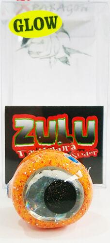 X-paragon Zulu Tai Kabura Rutschen 100/% Handgefertigt 80gr Farbe Orange