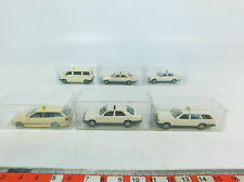 AX774-0,5# 6x Herpa H0 (1:87) Taxi-Modell: VW Caravelle+Mercedes-Benz+BMW, NEUW