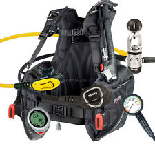 DIVING EQUIPMENT PACKAGE MARES BCD PRIME SIZE LARGE MR12s INSTINCT & PUCK