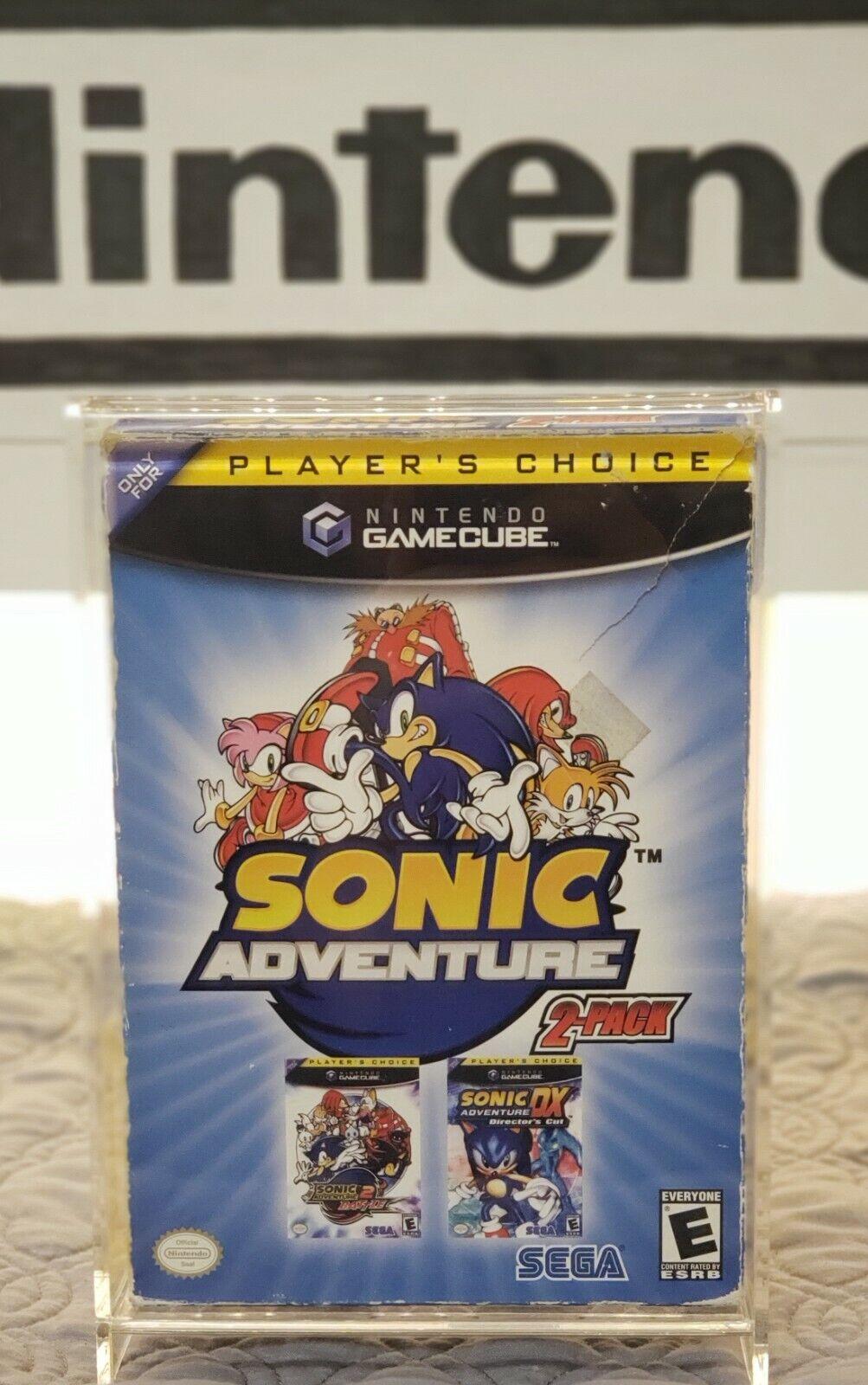 Sonic Adventure 2 Pack Nintendo Gamecube 2005 For Sale Online Ebay