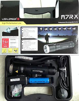LED Lenser M7RX  M7R  X AKKU Taschenlampe Xtreme Power LED 8307-RX