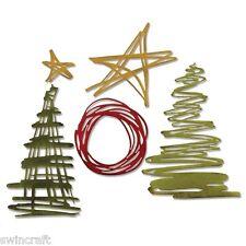 Sizzix Thinlits Plantilla Corte Die Relieve festivo garabatos 5pk 660980 *