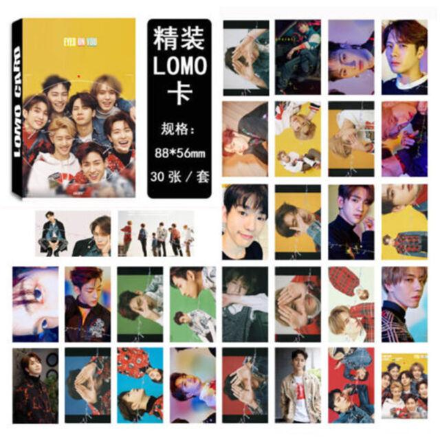 30PCS K-pop GOT7 Lomo Card EYES ON YOU Photocard Jackson Mark Bambam JR JB New