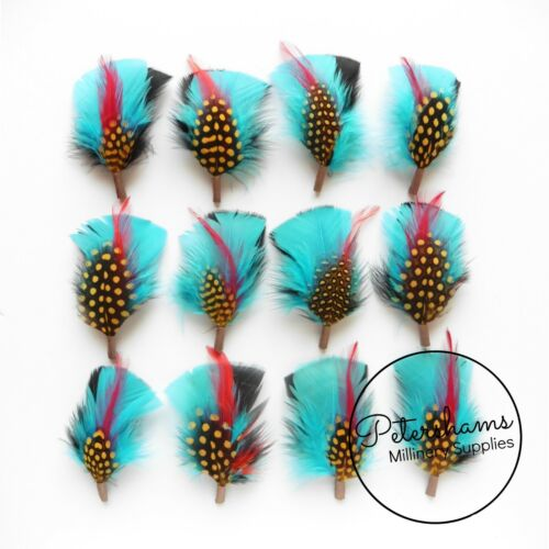 Men/'s Hat Feathers Millinery Mount 7 Designs and Colours to Choose From