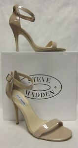 7c911486b4c Details about Steve Madden Realove Blush Patent Sandal - SIZE 9.5
