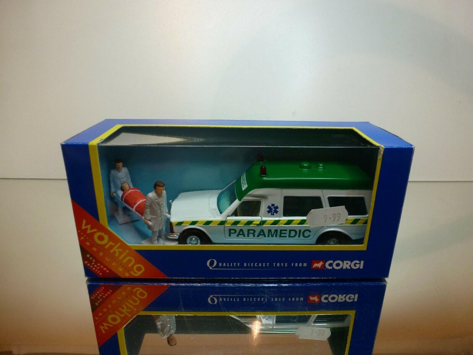 CORGI TOYS 57301 MERCEDES BENZ BONNA AMBULANCE PARAMEDIC - VERY GOOD IN BOX