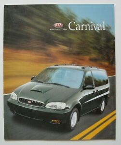 KIA-CARNIVAL-1998-dealer-brochure-catalog-English-Korea